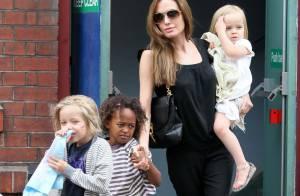 Brad Pitt et Angelina Jolie : Une sortie au ciné avec les enfants, le bonheur
