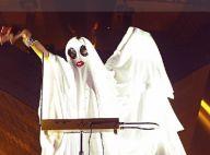 Paris Hilton perd la tête et débarque sur scène déguisée... en fantôme