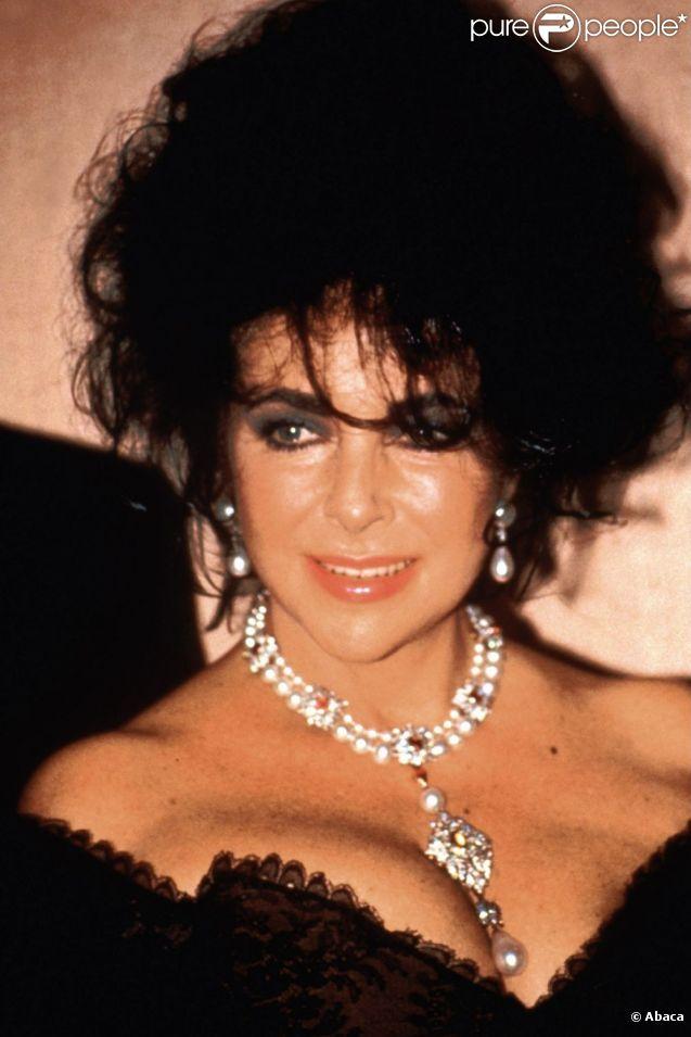 Elizabeth Taylor au début des années 1990