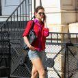 Katie Holmes dans les rues de New York, le 9 septembre 2011