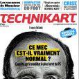 François Hollande en couverture de  Technikart , septembre 2011.