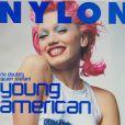 L'experte en coiffure Gwen Stefani, en couverture du magazine Nylon. Janvier 2000.