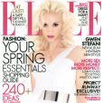 Février 2007 : la chanteuse Gwen Stefani prend la pose et se confie sur sa métamorphose dans le magazine Elle.
