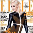 Trois couvertures du même magazine lors du même mois de parution : Gwen Stefani y parvient en mai 2011, avec cette couverture du Elle américain.