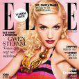 Gwen Stefani, sublime en Une de l'édition belge du magazine Elle. Mai 2011.