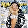 La chanteuse Gwen Stefani en couverture du magazine Rolling Stone. Janvier 2005.