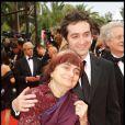 Mathieu Demy et sa mère Agnès Varda en 2009
