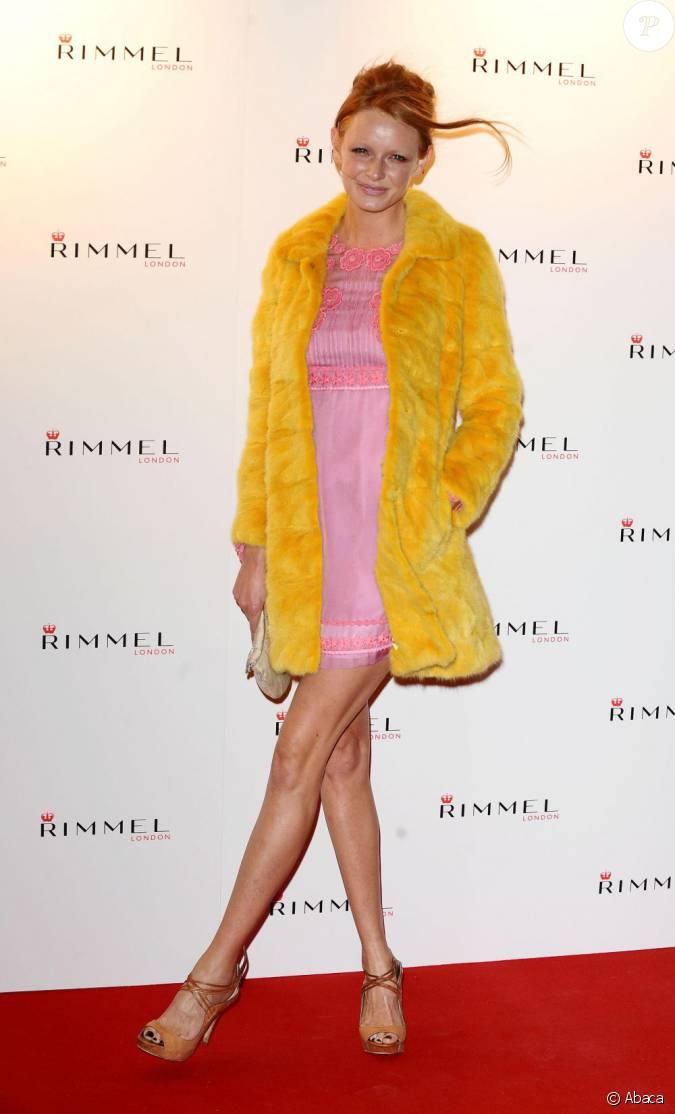 olivia Inge à la Rimmel London Party le 15 septembre 2011...