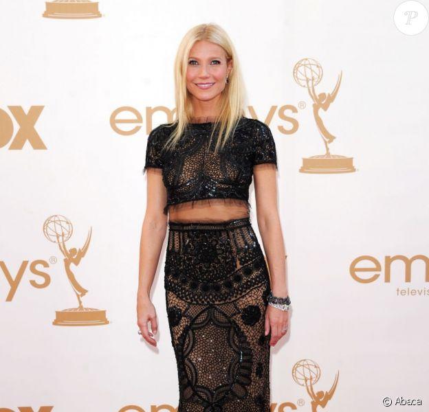 Gwyneth Paltrow sur le tapis rouge lors des 63ème Emmy Awards à Los Angeles le 18 septembre 2011
