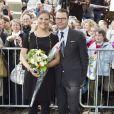 La princesse Victoria de Suède et son mari le prince Daniel ont visité durant deux jours Turku en Finlande le 20 septembre 2011