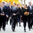 Le prince Daniel et la princesse Victoria de Suède visitent Abo en Finlande le 20 septembre 2011