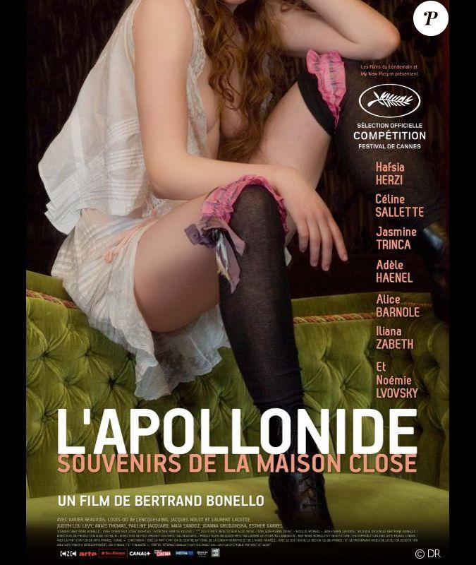 Affiche du film l 39 apollonide souvenirs de la maison for Apollonide souvenirs de la maison close