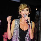 Claire Keim : Sexy, mutine et rock'n'roll pour un concert engagé