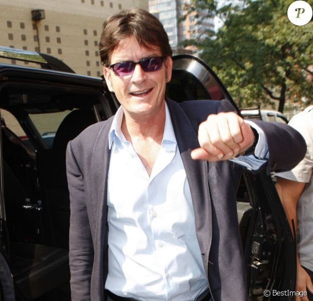Charlie Sheen, à Los Angeles, le 14 septembre 2011.