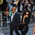 Arrivée de Janet et Randy Jackson au docteur Conrad Murray au tribunal de Los Angeles le 27 septembre 2011, accusé d'homicide involontaire sur Michael Jackson