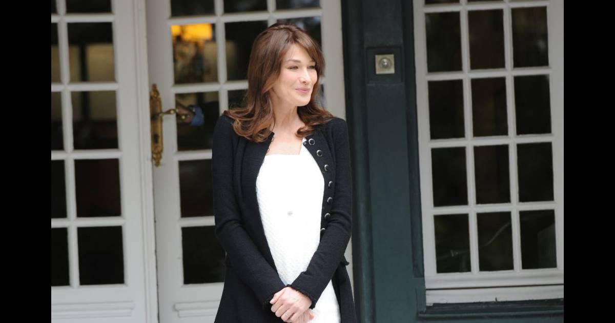 Carla bruni sarkozy est enceinte la premi re dame de - Fausse couche mais toujours enceinte ...
