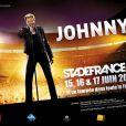 Johnny Hallyday, nouvelle affiche pour sa tournée 2012.