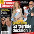 Couverture du magazine France Dimanche en kiosques vendredi 30 septembre 2011.