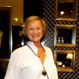 Eliane de la Béraudière lors du cocktail donné le mardi 27 septembre pour l'ouverture du nouvel espace entièrement dédié aux montres et bijoux,  au sein de la boutique Ralph Lauren.
