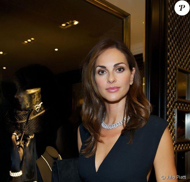 Tasha de Vasconscelos lors du cocktail donné le mardi 27 septembre pour l'ouverture du nouvel espace entièrement dédié aux montres et bijoux,  au sein de la boutique Ralph Lauren.