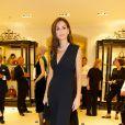 Tasha de Vasconcelos lors du cocktail donné le mardi 27 septembre pour l'ouverture du nouvel espace entièrement dédié aux montres et bijoux,  au sein de la boutique Ralph Lauren.