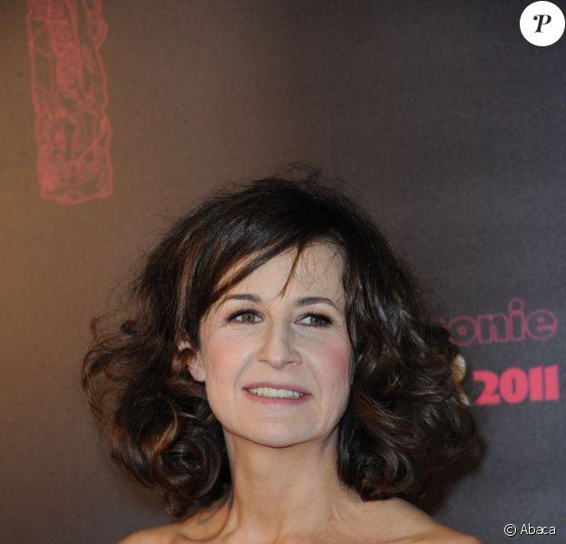 Valérie Lemercier lors de la cérémonie des César en février 2011