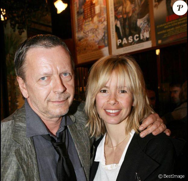 Romane Cerda et Renaud en 2007 à la Brasserie Lipp