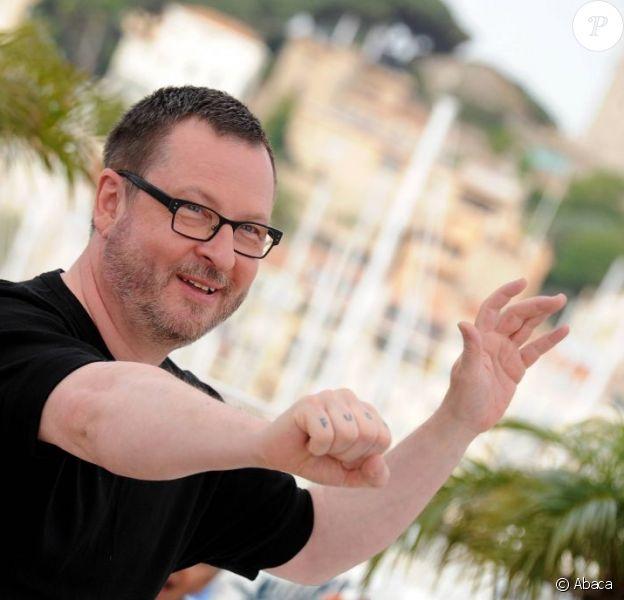 Lars von Trier lors du photocall du film Melancholia au festival de Cannes en mai 2011
