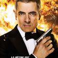 Rowan Atkinson dans Johnny English, le retour