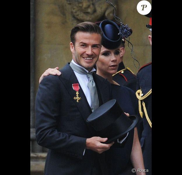 David et Victoria Beckham pourraient venir s'installer à Paris dans les prochains mois. Londres, 29 avril 2011