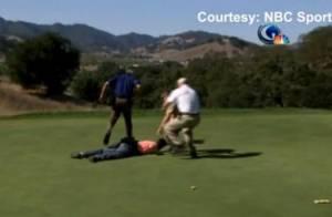 Tiger Woods, de retour sur les greens, victime d'une attaque... au hot dog !
