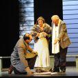 Filage de la pièce Collaboration, le 31 août 2011, au Théâtre des Variétés. Michel Aumont et Didier Sandre donnent la réplique à Christiane Cohendy, Stéphanie Pasquet, Patrick Payet, Sébastien Rognoni, et Eric Verdin.