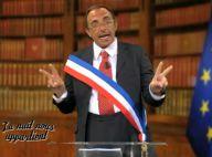 Nikos Aliagas, roi de l'autodérision, entre dans la peau de Jacques Chirac