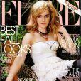 L'actrice Emma Watson, très appréciée au Canada, le leur rend bien avec cette couverture du magazine Flare. Novembre 2008.