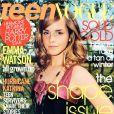 A 15 ans, Emma Watson posait en couverture du magazine Teen Vogue. Novembre 2005.