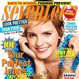Emma Watson dépose son rayonnant sourire en couverture du magazine Seventeen. Août 2011.