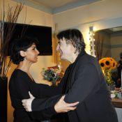 Serge Lama : Rachida Dati, Nana Mouskouri et tous ses amis... Standing ovation !