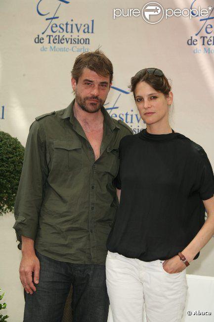 Thierry Neuvic et Hélène Fillières lors du photocall Mafiosa à Monte Carlo en juin 2009