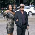 Barbara Gandolfi et Jean-Paul Belmondo en septembre 2011