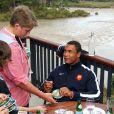 Thierry Dusautoir le 17 octobre 2011 à Riverhead au nord-ouest d'Auckland