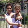 """""""Halle Berry et sa petite Nahla en août 2011 à Los Angeles"""""""