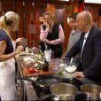 Claire et les chefs dans Masterchef 2, jeudi 20 octobre 2011 sur TF1