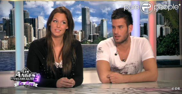 Aurélie et Zelko de Secret Story 5 dans Les Anges de la télé-réalité - Le Mag le mercredi 19 octobre 2011