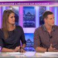Jeny Priez et Matthieu Delormeau dans Les Anges de la télé-réalité - Le Mag le mercredi 19 octobre 2011