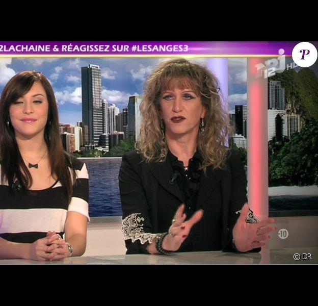 Morgane et Brigitte dans les Anges de la télé - Le Mag, vendredi 21 octobre 2011 sur TF1