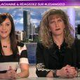 Morganne et Brigitte dans les Anges de la télé - Le Mag, vendredi 21 octobre 2011 sur TF1