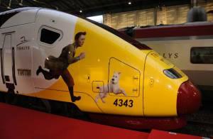 Les aventures Tintin : La folle journée de Gad Elmaleh et Steven Spielberg