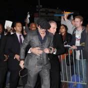 Johnny Depp sous protection très rapprochée