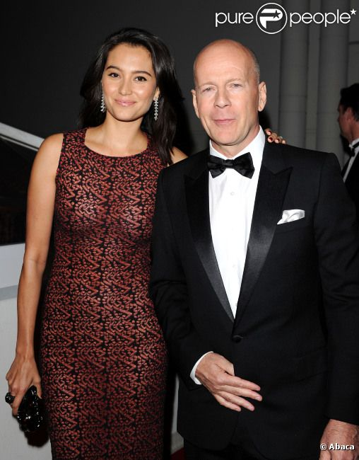 Bruce Willis et Emma Heming le 16 janvier 2011 à Los Angeles