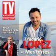 Frédéric Lopez en couverture de TV Magazine